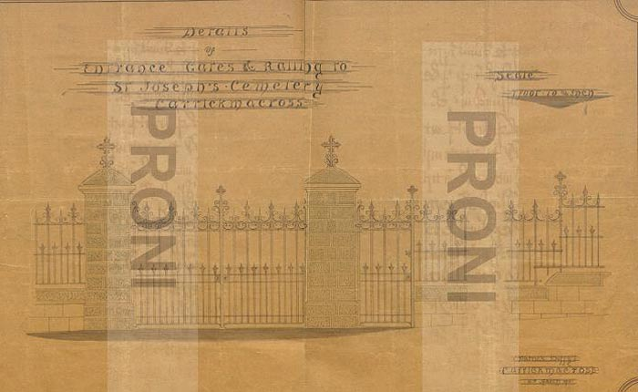 1911-Drawing-of-Gates